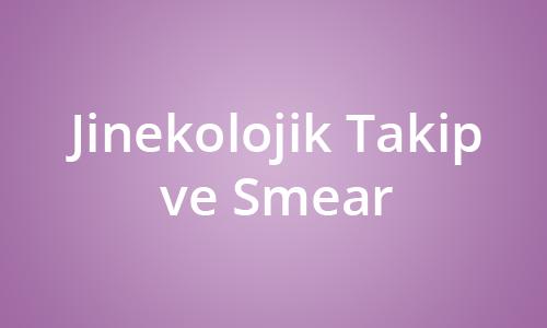 Jinekolojik Takip ve Smear